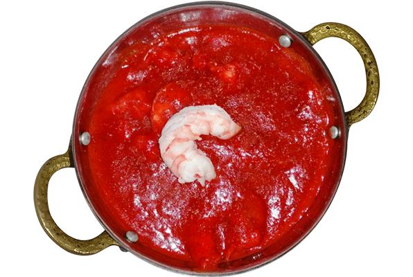 Crevettes tika