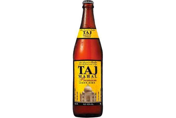 Bière indienne Taj Mahal
